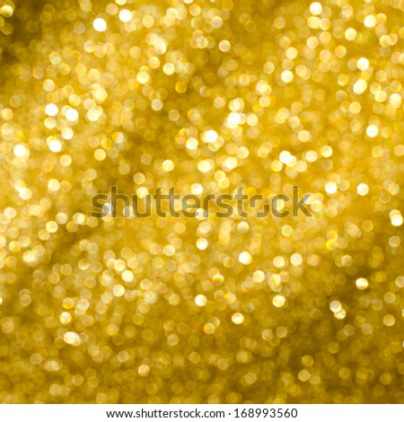 Holiday Abstract Glitter Defocused Background With Blinking Stars. Blurred Bokeh - stock photo