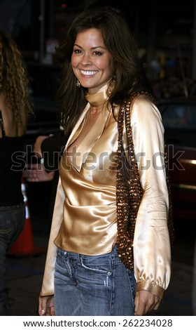 "04/04/2005 - Hollywood - Brooke Burke at the ""Sahara"" Premiere at the Grauman's Chinese Theater. - stock photo"