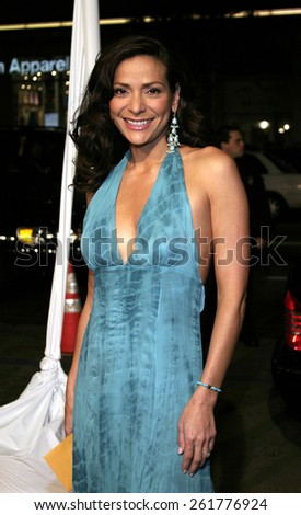 """03/23/2005 - Hollywood - Constance Marie at the """"Miss Congeniality 2: Armed and Fabulous"""" Premiere at the Chinese Theatre. - stock photo"""