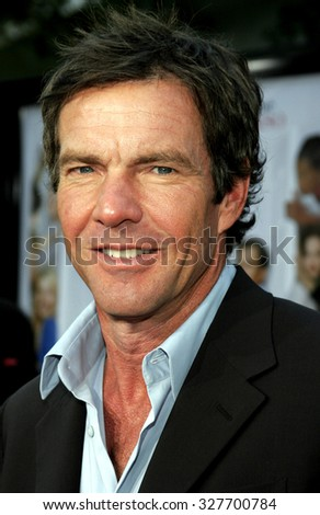 "11/20/2005 - Hollywood - Dennis Quaid at the ""Yours, Mine, and Ours"" Los Angeles Premiere at The Cinerama Dome in Hollywood, California, United States."