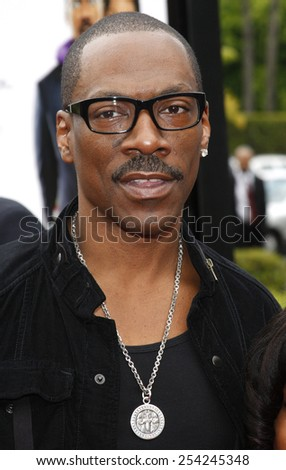 """6/6/2009 - Hollywood - Eddie Murphy at the Los Angeles Premiere of """"Imagine That"""" held at the Paramount Studios Lot in Hollywood, United States.  - stock photo"""
