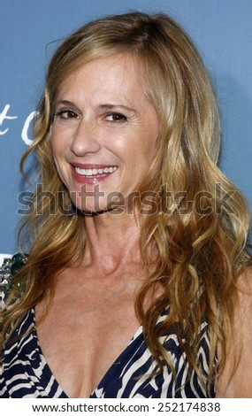"""16/09/2009 - Hollywood - Holly Hunter at the Los Angeles Premiere of """"Bright Star"""" held at the ArcLight Theater in Hollywood, California, United States.  - stock photo"""