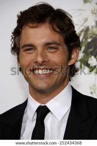 """12/04/2010 - Hollywood - James Marsden at the World Premiere of """"Death At A Funeral"""" held at the Arclight Cinerama Dome in Hollywood, California, United States.  - stock photo"""