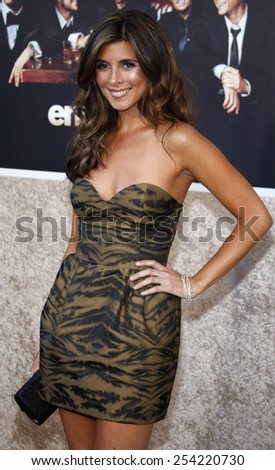 """9/7/2009 - Hollywood - Jamie-Lynn Sigler at the HBO's Official Premiere of """"Entourage"""" Season 6 held at the Paramount Pictures Studios in Hollywood, United States.  - stock photo"""