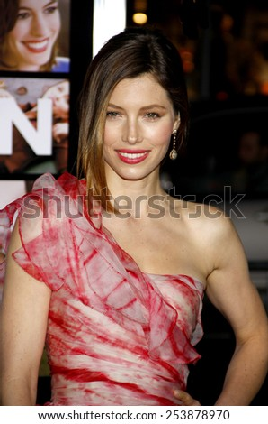 "08/02/2010 - Hollywood - Jessica Biel at the World Premiere of ""Valentine's Day"" held at the Grauman's Chinese Theater in Hollywood, California, United States."