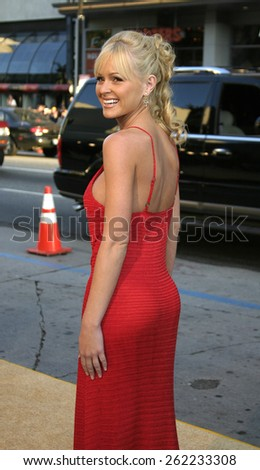 "04/04/2005 - Hollywood - Katie Lohmann at the ""Sahara"" Premiere at the Grauman's Chinese Theater. - stock photo"