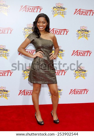 05/12/2009 - Hollywood - Keke Palmer at the Variety's 3rd Annual Power of Youth Event held at the Paramount Pictures Studios in Hollywood, California, United States.  - stock photo