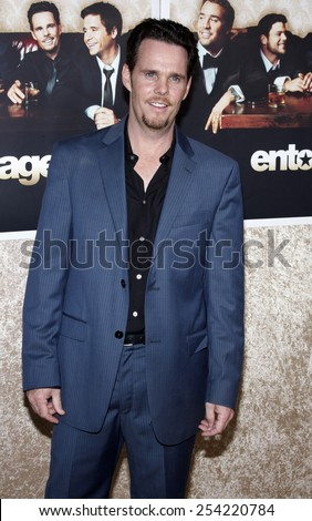 """9/7/2009 - Hollywood - Kevin Dillon at the HBO's Official Premiere of """"Entourage"""" Season 6 held at the Paramount Pictures Studios in Hollywood, United States.  - stock photo"""