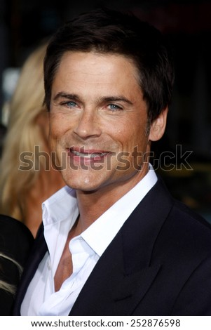 "21/09/2009 - Hollywood - Rob Lowe at the Los Angeles Premiere of ""The Invention of Lying"" held at the Grauman's Chinese Theater in Hollywood, California, United States."
