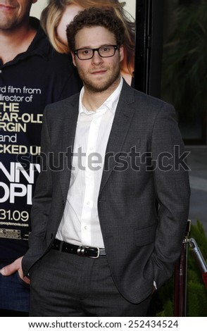 "20/7/2009 - Hollywood - Seth Rogen at the World Premiere of ""Funny People"" held at the ArcLight Theater in Hollywood, California, United States."