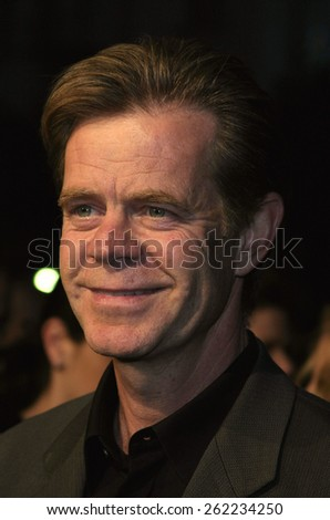 "04/04/2005 - Hollywood - William H. Macy at the ""Sahara"" Premiere at the Grauman's Chinese Theater. - stock photo"