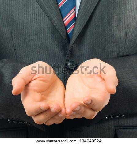 honest businessman - stock photo