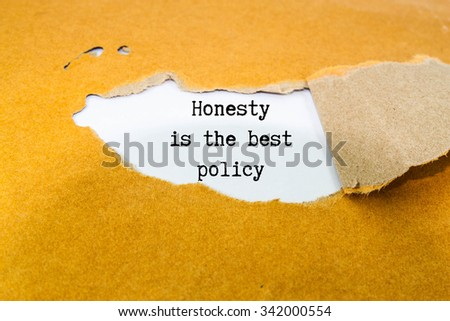 essay honesty is the best policy for kids Simple 250 300 words essay honesty is the best policy for kids introduction: honesty means being honest, another meaning truthfulness, policy means course of.