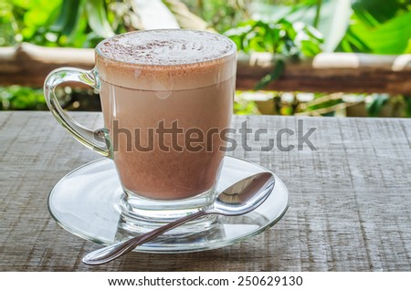 hot cocoa - stock photo