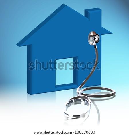 House Diagnostics - stock photo