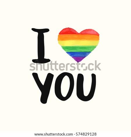 event Love gay pride emblem