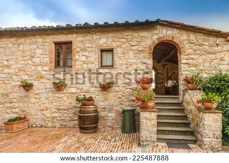 Il Borgo di Vescine - stock photo