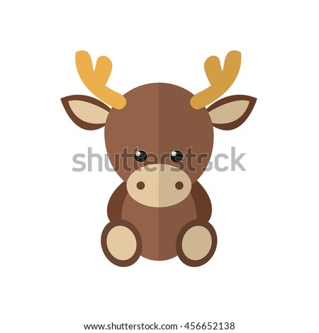 Moose face cartoon - photo#48