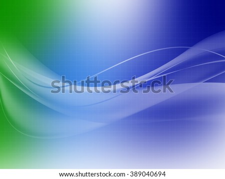 illustration of abstract colored smoke background with color curved lines and grid  - stock photo
