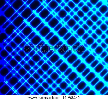 illustration of futuristic color abstract glowing background - stock photo