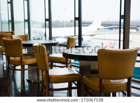 International Airport - stock photo