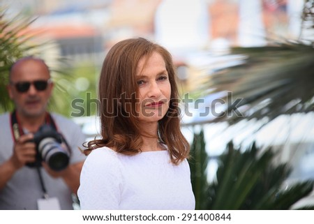 Isabelle Huppert attends the 'Valley Of Love' photocall during the 68th annual Cannes Film Festival on May 22, 2015 in Cannes, France.