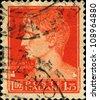 ITALY - CIRCA 1929: A stamp printed in Italy shows Augustus Caesar, circa 1929 - stock photo