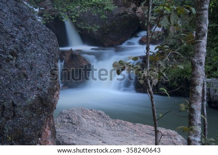 Itiquira Falls, The Itiquira Falls is a waterfall in the southern part of Brazil. Located 34 kilometers north of Formosa in the state of Goiás and 115 kilometers from Brasilia, the capital