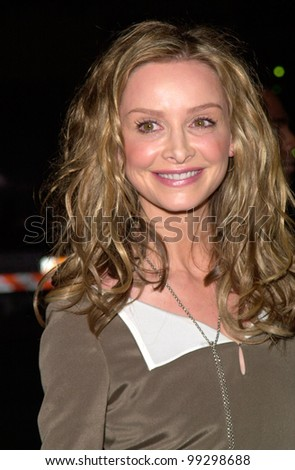 """09JAN2000:   """"AllyMcBeal"""" star CALISTA FLOCKHART at the 26th Annual People's Choice Awards in Pasadena, CA, where she won the award for Favourite Female TV Performer.         Paul Smith / Featureflash - stock photo"""