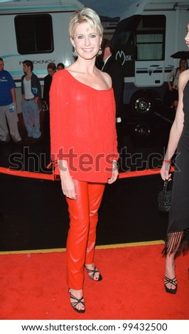 17JAN2000: Singer/actress OLIVIA NEWTON-JOHN at the American Music Awards in Los Angeles.  Paul Smith / Featureflash - stock photo