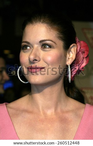 27 January 2005 - Hollywood, California - Debra Messing. The world premiere of 'The Wedding Date' at Universal Studios Cinema in Universal Studios Hollywood.