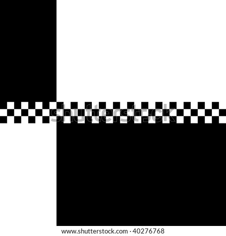(Jpg) 80s retro '2 Tone' checkerboard design with plenty of copyspace. A vector version is also available.