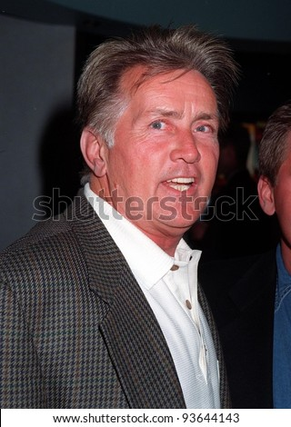 "10JUL97:  Actor MARTIN SHEEN at the Video Software Dealers Assoc. convention in Las Vegas. He and son Emilio Estevez were promoting the video of their movie ""The War at Home."""