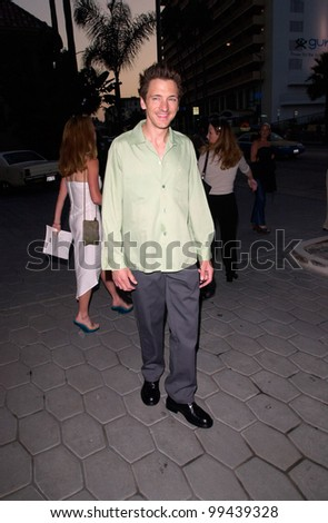 22JUNE2000 Actor JOHN HAWKES at party for GQ Magazine to promote their July issue featuring Mark Wahlberg. - stock photo