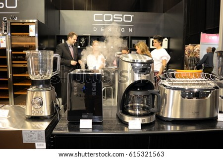 Kitchen exhibition 2017 at March 03, 2017 in Budapest, Hungary.