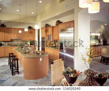 Kitchen Interior Design Architecture Stock Images,Photos of Living room, Bathroom,Bed room, Office, Interior photography. - stock photo