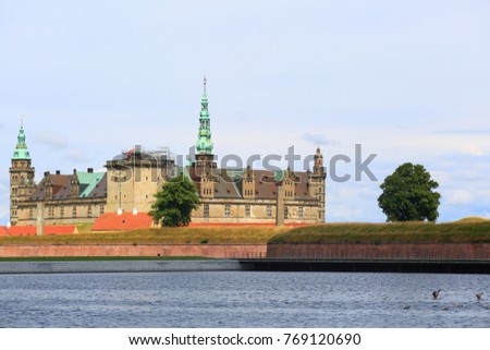 Kronborg Castle Immortalized as Elsinore in William Shakespeare's play Hamlet