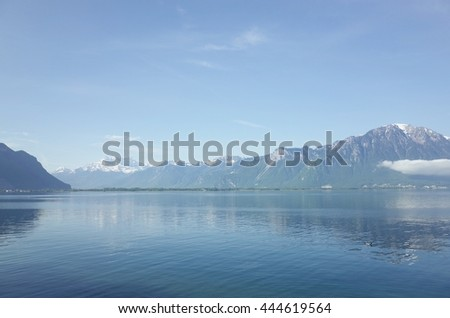 Lac Leman(lake in swiss)
