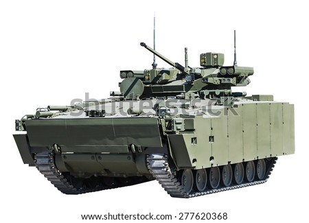 latest Russian infantry fighting vehicle - stock photo