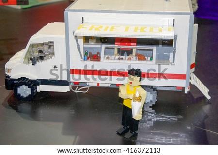Lego Food Truck At Brickman Experience In Perth Australia PERTH