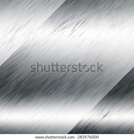 light metal with a vertical texture - stock photo