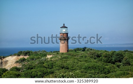 Lighthouse on the island