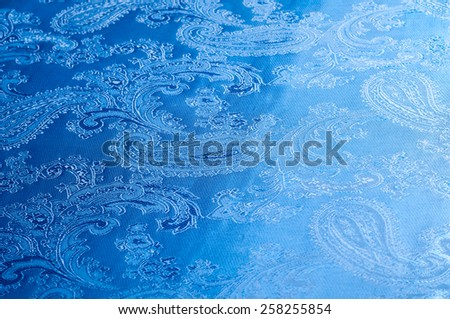lilac fabric. tissue, textile, cloth, fabric, material, texture.  photo taken in studio. cloth, typically produced by weaving or knitting textile fibers. - stock photo