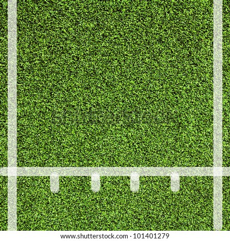 Line sport on Artificial green grass texture use for background