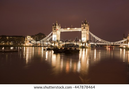 """London's Tower Bridge"""