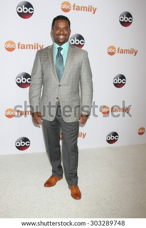 , LOS ANGELES - AUG 4:  Alfonso Ribeiro at the ABC TCA Summer Press Tour 2015 Party at the Beverly Hilton Hotel on August 4, 2015 in Beverly Hills, CA - stock photo