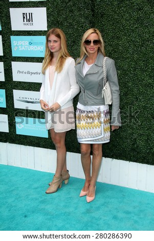 0LOS ANGELES - MAY 16:  Camille Grammer at the Super Saturday LA at the Barker Hanger on May 16, 2015 in Santa Monica, CA - stock photo