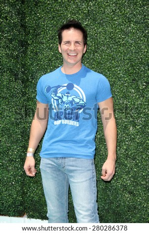0LOS ANGELES - MAY 16:  Hal Sparks at the Super Saturday LA at the Barker Hanger on May 16, 2015 in Santa Monica, CA - stock photo