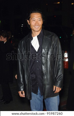 """Lost"" star DANIEL DAE KIM at the Los Angeles premiere of ""Blood Diamond"" at Grauman's Chinese Theatre, Hollywood. December 6, 2006  Los Angeles, CA Picture: Paul Smith / Featureflash"