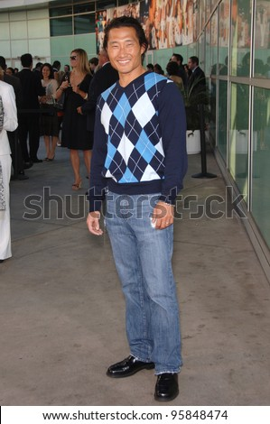 """""""Lost"""" star DANIEL DAE KIM at the world premiere, in Hollywood, of """"The Lake House"""". June 13, 2006  Los Angeles, CA  2006 Paul Smith / Featureflash - stock photo"""
